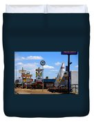 The Tee-pee Curios On Route 66 Nm Duvet Cover