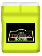 The Tequila House, New Orleans Duvet Cover