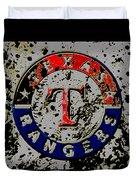 The Texas Rangers 6b Duvet Cover