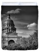 The Texas State Capitol Duvet Cover