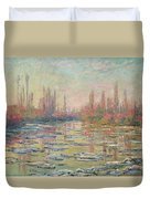 The Thaw On The Seine Duvet Cover