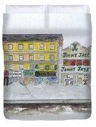 Theatre's Of Harlem's 125th Street Duvet Cover