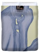 The Thinker With Memory 1,5 Tb Duvet Cover