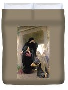 The Three Marys At The Tomb Duvet Cover