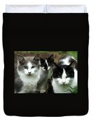The Three Of Us Duvet Cover