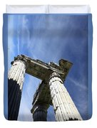The Three Pillars Duvet Cover