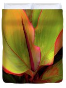 The Ti Leaf Plant In Hawaii Duvet Cover