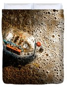 The Tide And Its Takers Duvet Cover