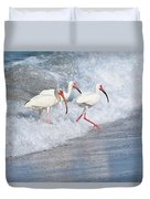 The Tide Of The Ibises Duvet Cover