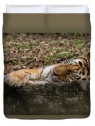 The Tiger's Rock  Duvet Cover
