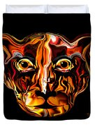 The Tigress. Duvet Cover
