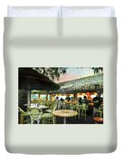 The Tiki Bar Duvet Cover