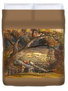 The Timber Wain Duvet Cover