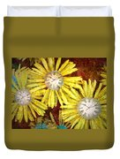 The Time Flowers Duvet Cover