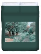 The Time Goes By. Nature In Alien Skin Duvet Cover
