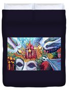 The Time Duvet Cover