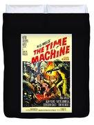 The Time Machine B Duvet Cover