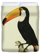 The Toco Toco Toucan  Ramphastos Toco Duvet Cover