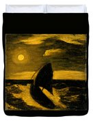 The Toilers Of The Sea Duvet Cover
