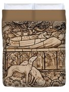 The Tomb Of Tristram And Iseult Duvet Cover