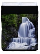 The Top Of Dingmans Falls Duvet Cover