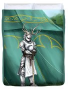 The Tourney Duvet Cover by Brandy Woods