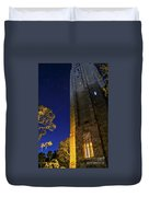 The Tower At Night Duvet Cover