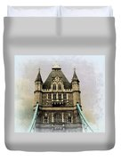 The Tower Bridge In London 2 Duvet Cover