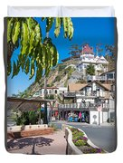 The Town Of Avalon Duvet Cover