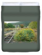 The Tracks At Pagosa Junction Duvet Cover