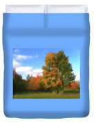 The Transition From Summer To Fall. Duvet Cover