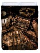 The Treasure Hunt Duvet Cover