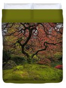 The Tree In Spring Duvet Cover