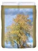 Town Tree  Duvet Cover