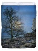 The Tree Of Inis Mor Duvet Cover