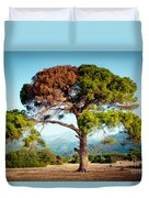 The Tree Of Life And Dead Duvet Cover