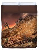 The Tree Of Zion Duvet Cover