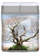 The Tree On The Top Of The Hill  Duvet Cover