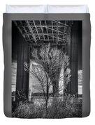 The Tree Under The Bridge Duvet Cover