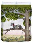 The Tree Whippet Duvet Cover
