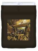 The Trenches Duvet Cover by Andrew Howat