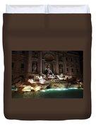 The Trevi Fountain In Rome Duvet Cover