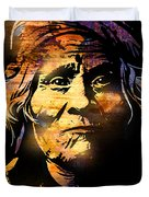 The Tribe Elder Duvet Cover