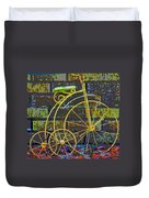 The Tricycle Duvet Cover