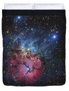 The Trifid Nebula Duvet Cover