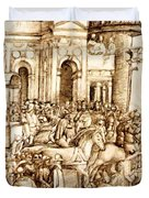 The Triumph And Vespasian De Titus 1500 Duvet Cover