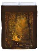 The Trout Pool Duvet Cover