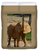 The Trumpeter Sounds Duvet Cover