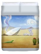 The Truth About Roswell Duvet Cover