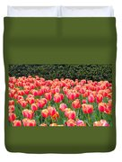 The Tulips Are Coming Duvet Cover